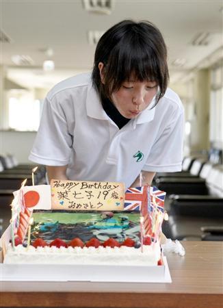 19歳の誕生日(9日)を祝して自厩舎(根本厩舎)... 19歳の誕生日(9日)を祝して自厩舎(根