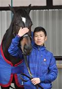 現役最年少でまだ騎手の面影も残る田中博康調教師が開業。希望を胸に抱いて新たなスタートを切る(撮影・佐藤雄彦)